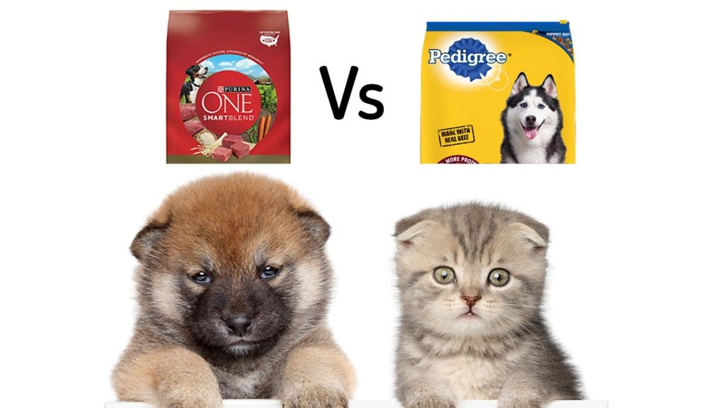 Pedigree vs Purina One