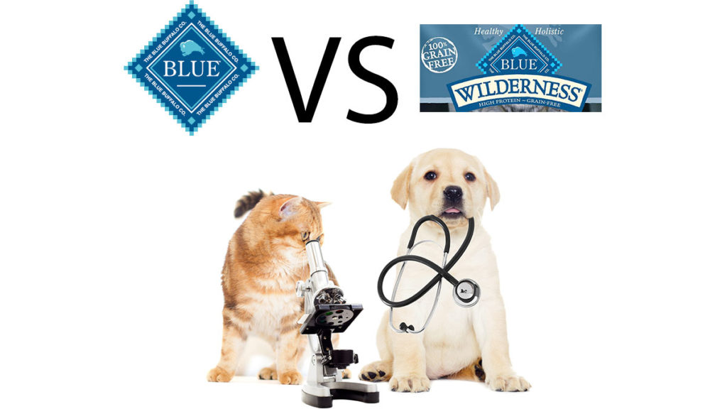 Blue Wilderness vs Blue Buffalo