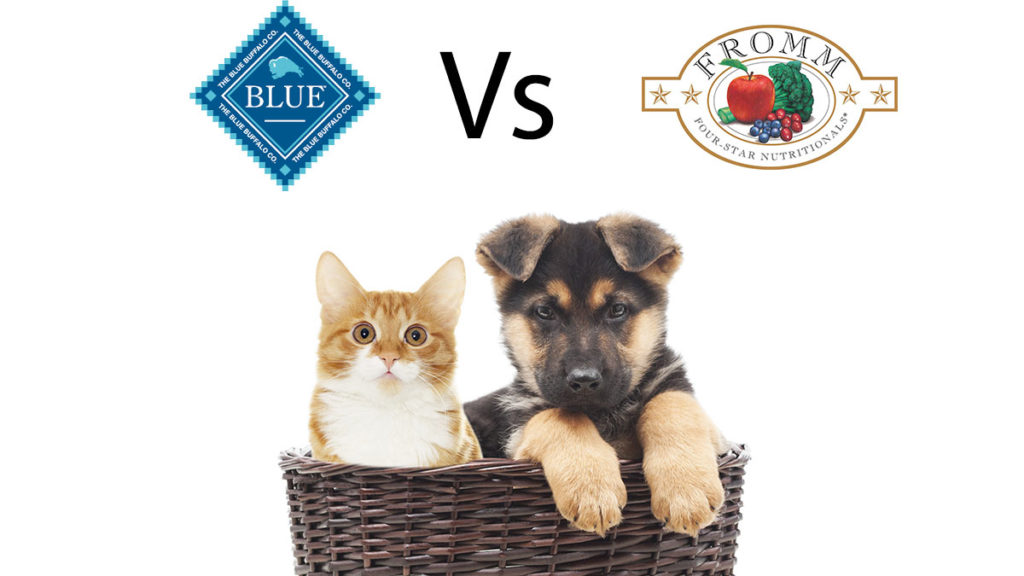 Blue Buffalo vs Fromm