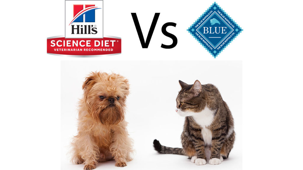 Hills Science Diet vs Blue Buffalo