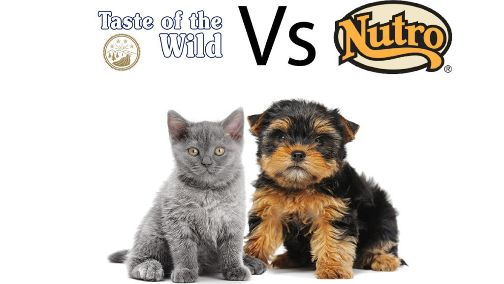 Nutro vs Taste of the wild