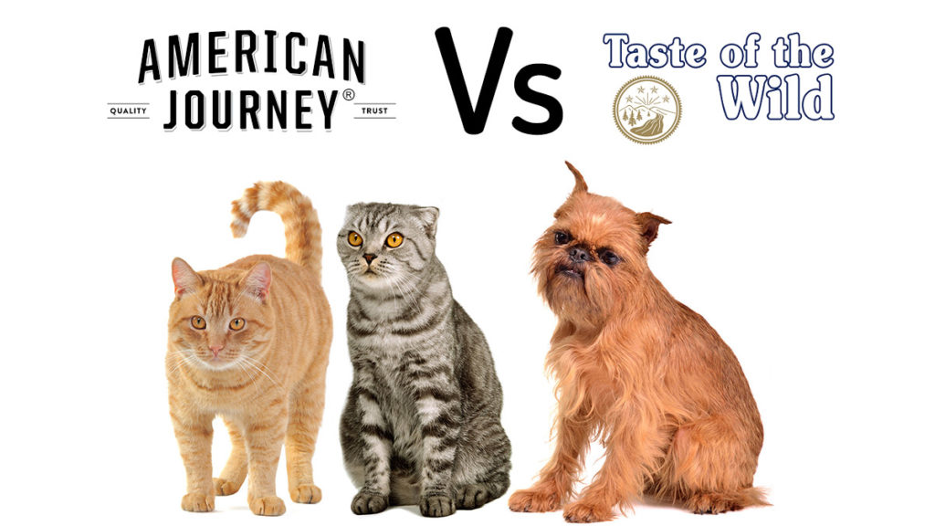 American Journey vs Taste of the wild